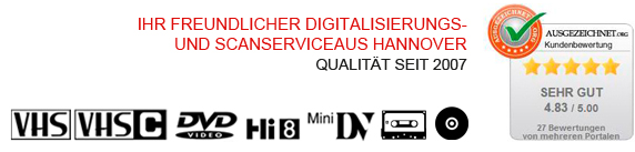 Digital- und Scanservice